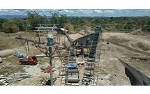 50cbm/hour river rock crushing plant in Philippines.
