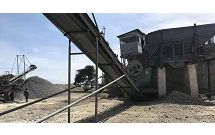 100 tons per hour granite stone crushing plant in Tanzania, East Africa