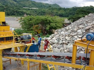 200T/H Stationary Rock Crushing Plant for Philippines